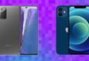 """Galaxy Note 20 x iPhone 12: quais dos tops mais """"básicos"""" leva a melhor?"""